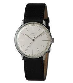 Junghans Watches: Max Bill Mechanical Men's Watch Model 3700