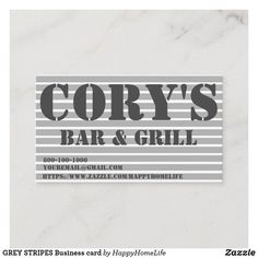GREY STRIPES Business card. DAILY DEALS! #businesscard #trendybusinesscards #office #business #greystripesbusinesscard Personalized Sticky Notes, Personalized Pencils, Office Items, Special Kids, All Family, Good Parenting, Children's Literature, Mom Blogs, Daily Deals