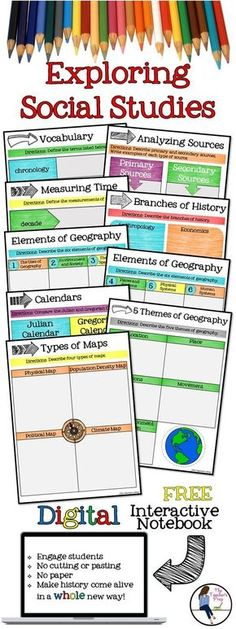 Social studies weekly warm ups keeps concepts fresh for students exploring social studies digital interactive notebook for google drive fandeluxe Image collections