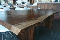 Live edge slab table by MADE Studio Portland, OR