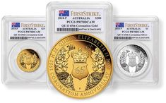 U.S. MONEY RESERVE RELEASES U.S. EXCLUSIVE PERTH MINT 65TH ANNIVERSARY CORONATION SET