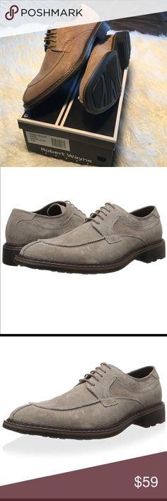 Men's Robert Wayne Angel Split - Toe Derby 8.5 Brand: Robert Wayne Style: Oxford Department: Men's Material: Genuine Suede Size width: Medium Size: 8½ Robert Wayne Shoes Oxfords & Derbys