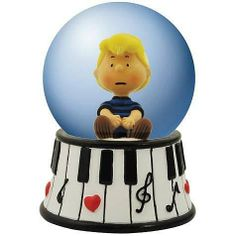 Peanuts Schroeder Piano Water Globe by Westland Giftware. $10.99. It's a water globe, Schroeder!. Bring home this Peanuts Schroeder Piano Water Globe.. Order yours today!. Ages 13 and up.. 1 3/4-inches in diameter.. It's a water globe, Schroeder! Bring home this Peanuts Schroeder Piano Water Globe. 1 3/4-inches in diameter. Order yours today! Ages 13 and up.. Save 71%!