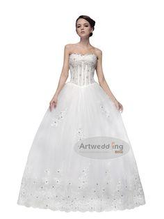 a line wedding dresses i lovee