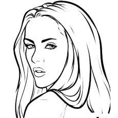 Tags blank coloring pages, comic drawing, simple art, learn to paint, penci Blank Coloring Pages, Coloring Pages For Girls, Outline Drawings, Art Drawings, Girl Outlines, Twilight, Black And White Sketches, Comic Drawing, Hippie Art
