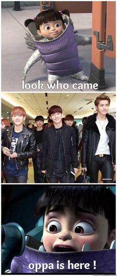 EXO fangirl 'BOO'