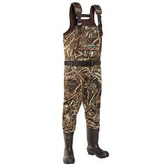TideWe Chest Waders, Hunting Waders for Men Realtree Camo with Insulation, Waterproof Cleated Neoprene Bootfoot Wader, Insulated Hunting & Fishing Waders Hunting Boots, Hunting Gear, Hunting Camouflage, Ghost Hunting, Best Fishing, Fly Fishing, Insulated Rubber Boots, Skinny Water