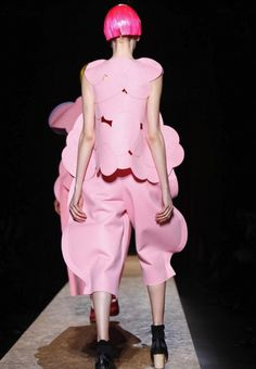 Comme des Garcons (when I see this I think Princess Bubblegum Couture and I love it!)