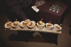Wedding Hors d'ourves late night snack