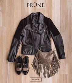 Leather Skirt, Leather Jacket, Skirts, Jackets, Fashion, Studded Leather Jacket, Down Jackets, Moda, Skirt