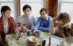 Grizzly Bear, an amazing band. No, seriously check them out