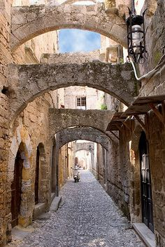 Rhodes, Greece, old town