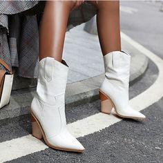 Buy Western Cowboy Boots Mid-Calf Winter at equashop.com! Free shipping Worldwide. 45 days money back guarantee.