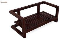 Skyler Wooden Sofa Sets (Mahogany Finish)-8