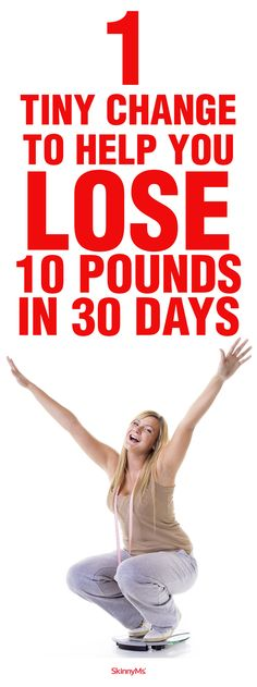Are you ready to learn about one little lifestyle tweak with the potential to rock your weight loss world? No crazy supplements. No fad diets. No fairy godmothers.