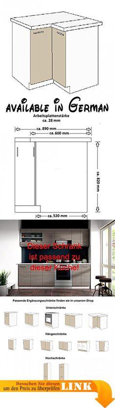 B074P3YMDV  Küchen Hochschrank in Schwarz Kiefer Massivholz - hochschrank 30 cm breit küche