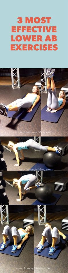 3 MOST EFFECTIVE LOWER AB EXERCISES click image for the full workout
