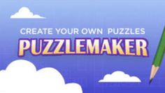 Discovery Education Puzzlemaker - where you can create your own puzzles for free!