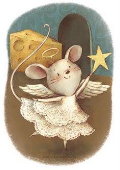 una linda ratoncita