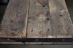 CAPRICE.08 reclaimed wood iron rust raw desk handcraft