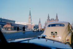 Автомобили на Красной Площади