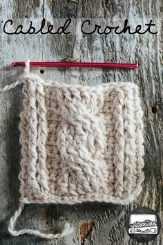 Cabled Crochet Basics, tutorial by slugs on the refrigerator. Well I can dream that I could make this in crochet but I think it would have to be knit