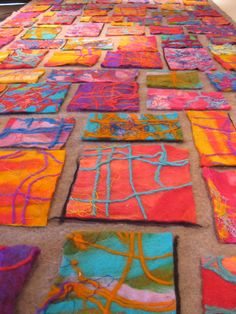 Preps and Grade Ones | Layout stage before the final felt | Elizabeth Armstrong | Flickr