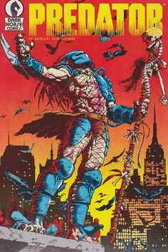 """June 1989-March 1990: The events of Predator #1-4 revolve around NYC Detective Schaefer, the brother of Major Alan """"Dutch"""" Schaefer. Detective Schaefer and his partner, Detective Rasche, discover a Predator in New York City during a drug deal gone bad. Schaefer believes the Predator and a mysterious army general have a connection to his brother, Dutch, which leads Schaefer on a hunt into Colombia."""