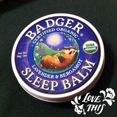 .@Secretos De Belleza | Buenas noches! Me encantan los bálsamos de #badger #beauty #goodnight