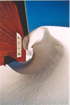 Tänndalen. \\\ get snowed in somewhere bizarre like alaska or something++