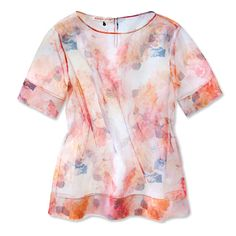 Petal Pushers - Rebecca Taylor Top from #InStyle