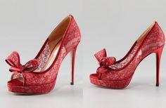 Beautiful Illusion Wedding Shoes | OneWed