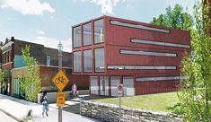 Saint Louis, Missouri is about to receive its first shipping container building and it is designed by Architect Anthony Duncan for Delsa Development.