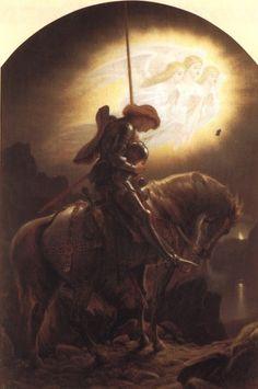 Sir Galahad  by Joseph Noel Paton (ARC)