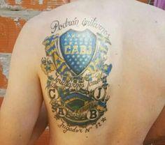 34 Mejores Imágenes De Tatuajes Boca Juniors En 2019
