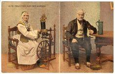 Tracht der Wilstermarsch 1902 Altes Bauernpaar #Wilstermarsch