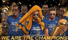 Image may contain: 5 people 2018 Nba Champions, We Are The Champions, Warriors Stephen Curry, Baskets, Nba Live, Warrior 1, Draymond Green, Kevin Durant, Sports Art