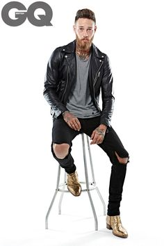 Roofer-turner-model Billy Huxley's style rules