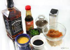 Make a Jack Daniel's Marinade