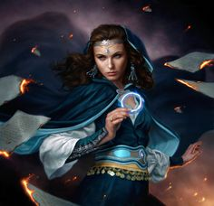 One of my all time favorite book characters, Moiraine from Wheel of Time by Robert Jordan.