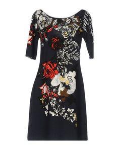 Blumarine Women Knit Dress on YOOX. The best online selection of Knit Dresses Blumarine. YOOX exclusive items of Italian and international designers - Secure payments Beachwear, Dark Blue, Short Dresses, Cold Shoulder Dress, High Neck Dress, Coat, Skirts, Polyvore, Jackets