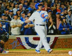 Miguel Montero Signed Chicago Cubs 2016 NLCS Game 1 Grand Slam 16x20 Photo