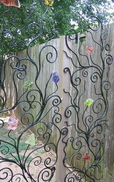 Handmade Gates | Ornamental Gates | Artistic Garden Gate | | Art Nouveau |  Pinterest | Garden Gate