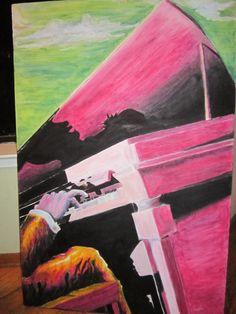 Pastel Work (sold)