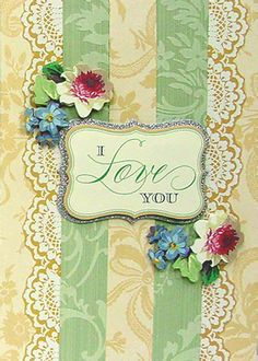 The Cecile Collection - Scrapbook.com  I love you