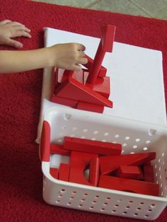 Building block literacy and story telling