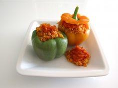 Niemand ist unersetzlich: Gefüllte Paprika mit Quinoa