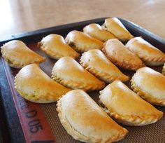 Baked Vegetable #Samosas - a #Thermomix #Recipe via The Bush Gourmand
