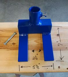 Pallet Tool  ** Heavy Duty** Custom Made Pallet Breaker  BLUE   *FREE SHIPPING*