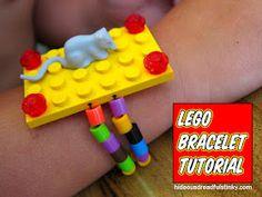 Lego Bracelet Tutorial